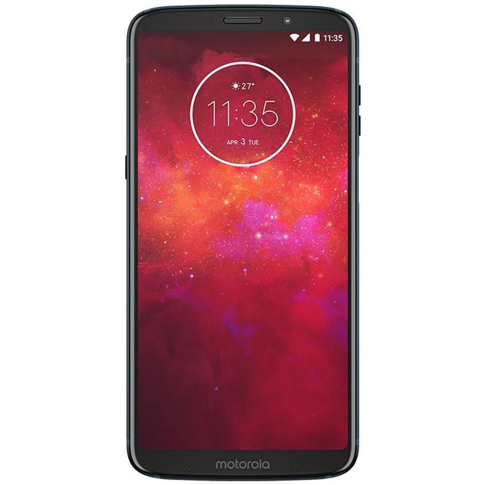 Smartphone Motorola Moto Z3 Play 64gb Style Edition xt1929 Tela 6.0' 4gb ram 12mp + 5mp Novo de Vitrine