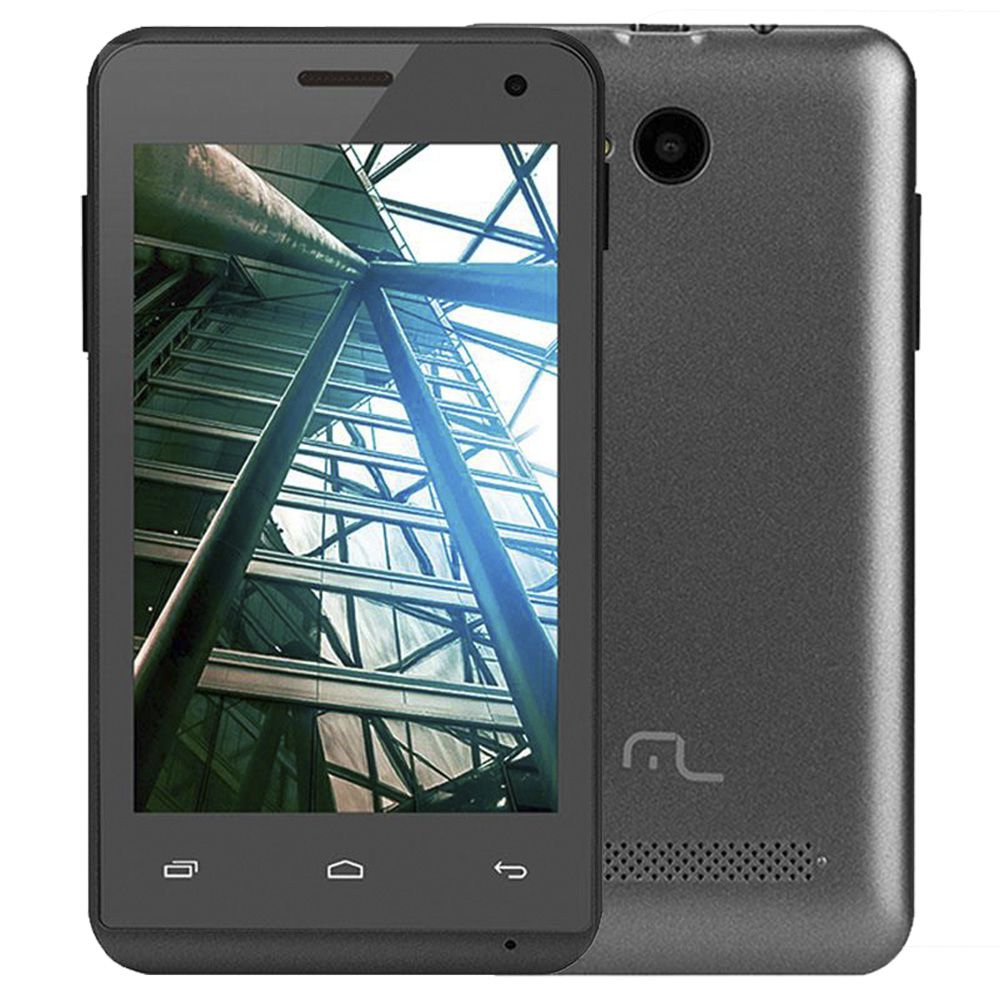 Smartphone Multilaser MS40 Nb226 Tela 4.0' 3g Dual 4gb 5mp Vitrine
