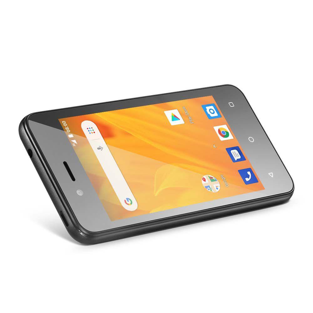 Smartphone Multilaser Ms40g NB759 Tela 4.0' Dual 3g 8gb 5mp Novo + Cartão 32gb