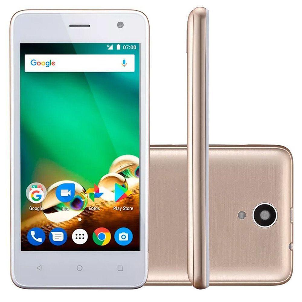 Smartphone Multilaser Ms45 4g nb721 nb720 Tela 4.5' 8gb 8mp Novo