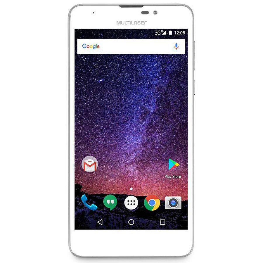 Smartphone Multilaser Ms55M P9047 Tela 5.5' 3G 8mp 8gb Android 7.0 Outlet
