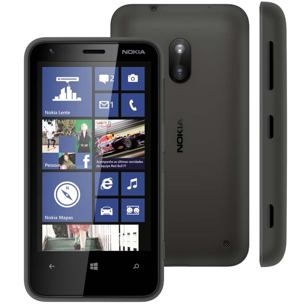 Smartphone Nokia Lumia 620 Tela 3.8' 3g 8gb 5mp Windows ...