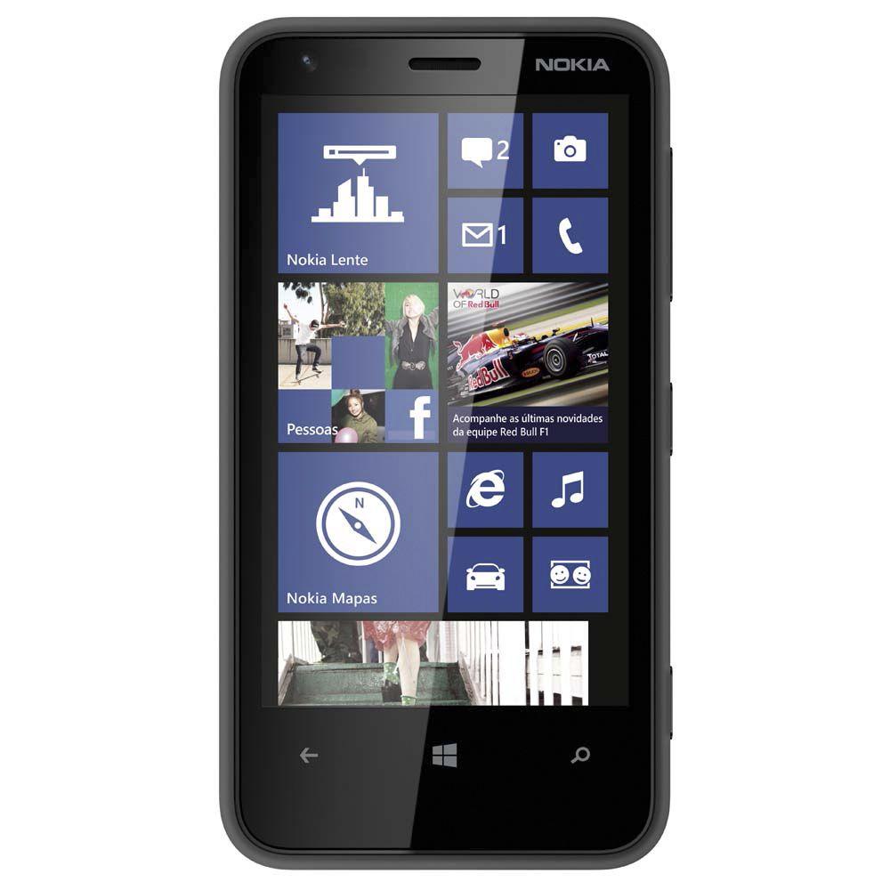 Smartphone Nokia Lumia 620 Tela 3.8' 3g 8gb 5mp Windows Phone Vitrine