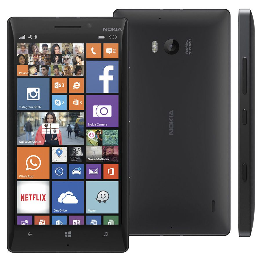 Smartphone Nokia Lumia 930 Windows Phone Tela 5.0' 32gb 2gb Ram Vitrine