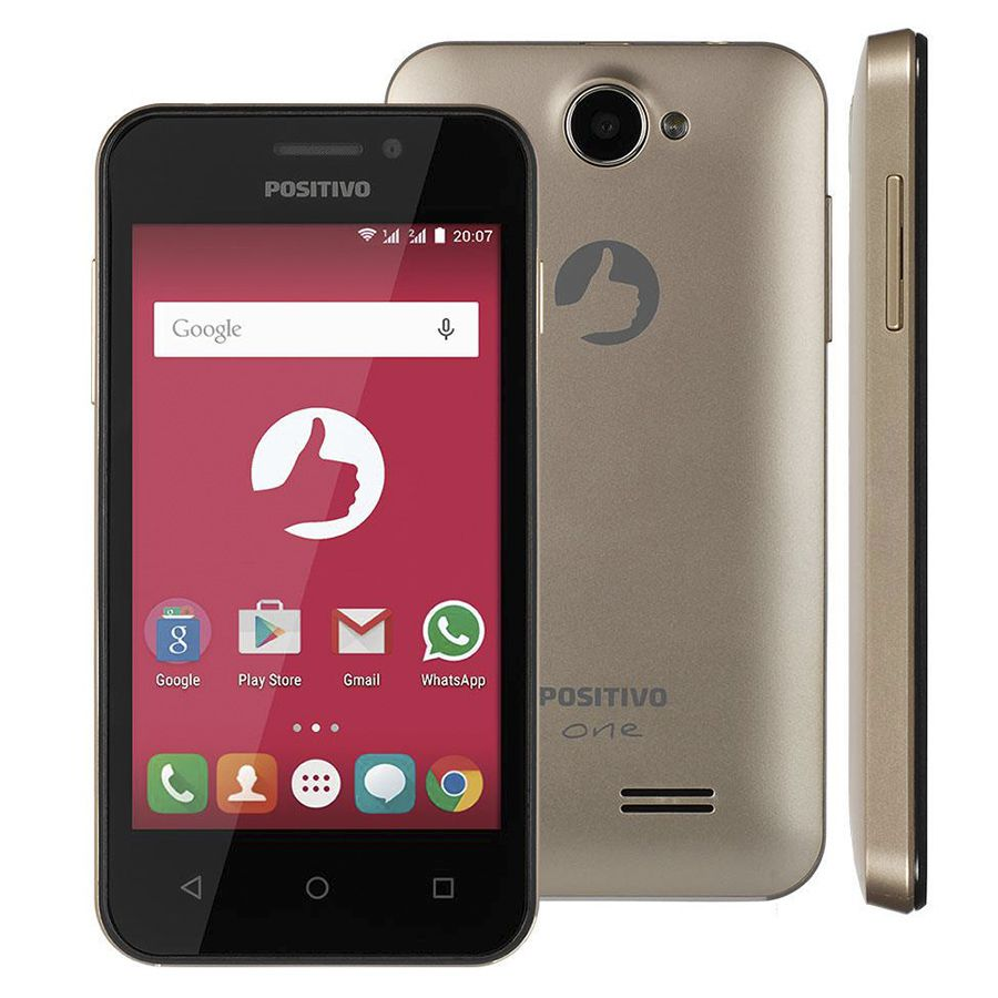 Smartphone Positivo One S420 Tela 4' Dual 3g 8gb Vitrine