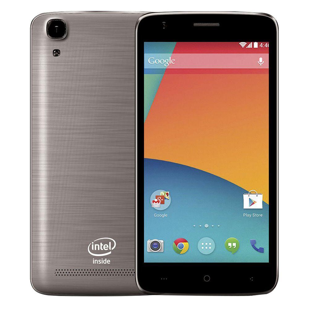 Smartphone Qbex W510 GRAY Intel Tela 5.0' Dual 3g 16gb 8mp Anatel