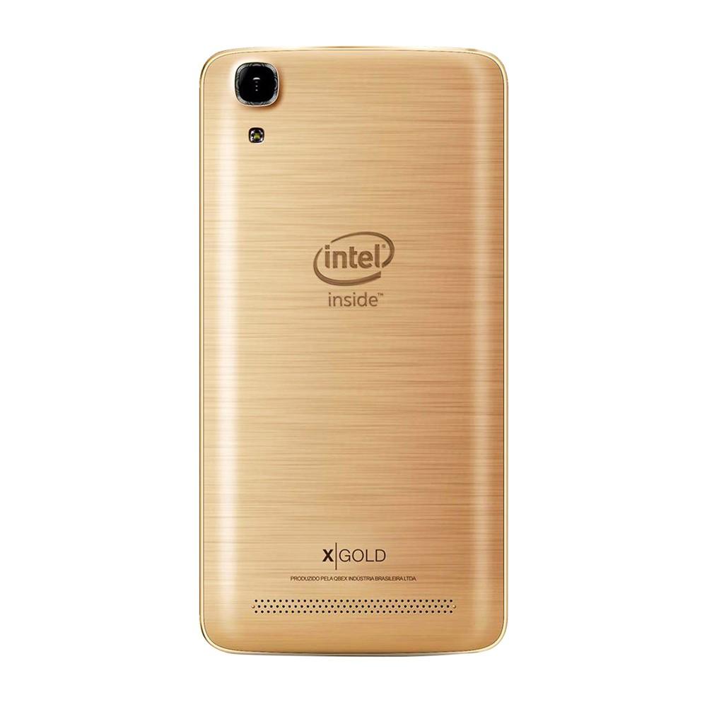 Smartphone Qbex X-Gold Intel W509 Dual 16GB (Recondicionado)