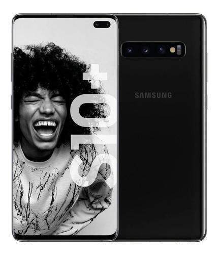 Smartphone Samsung Galaxy S10+ Dual 128gb 8gb Ram Muito Bom (Recondicionado)