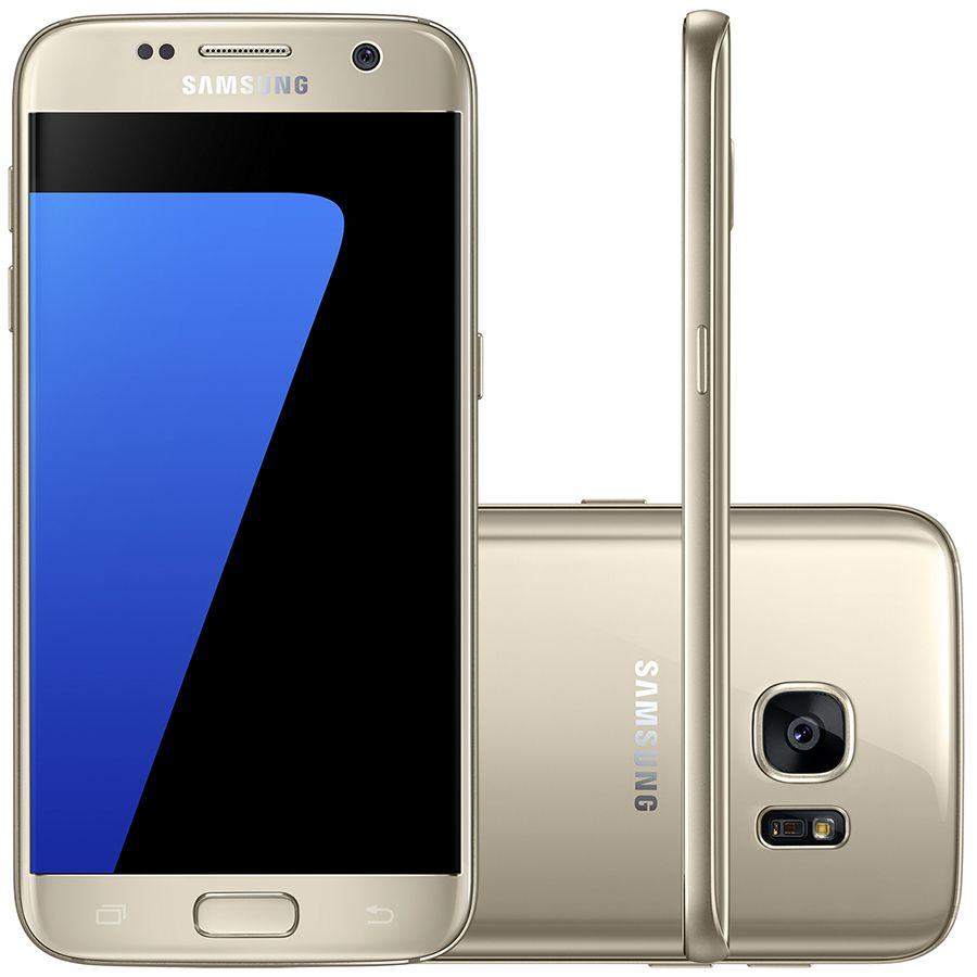 Smartphone Samsung Galaxy S7 G930 Tela 5.1' 32gb Outlet