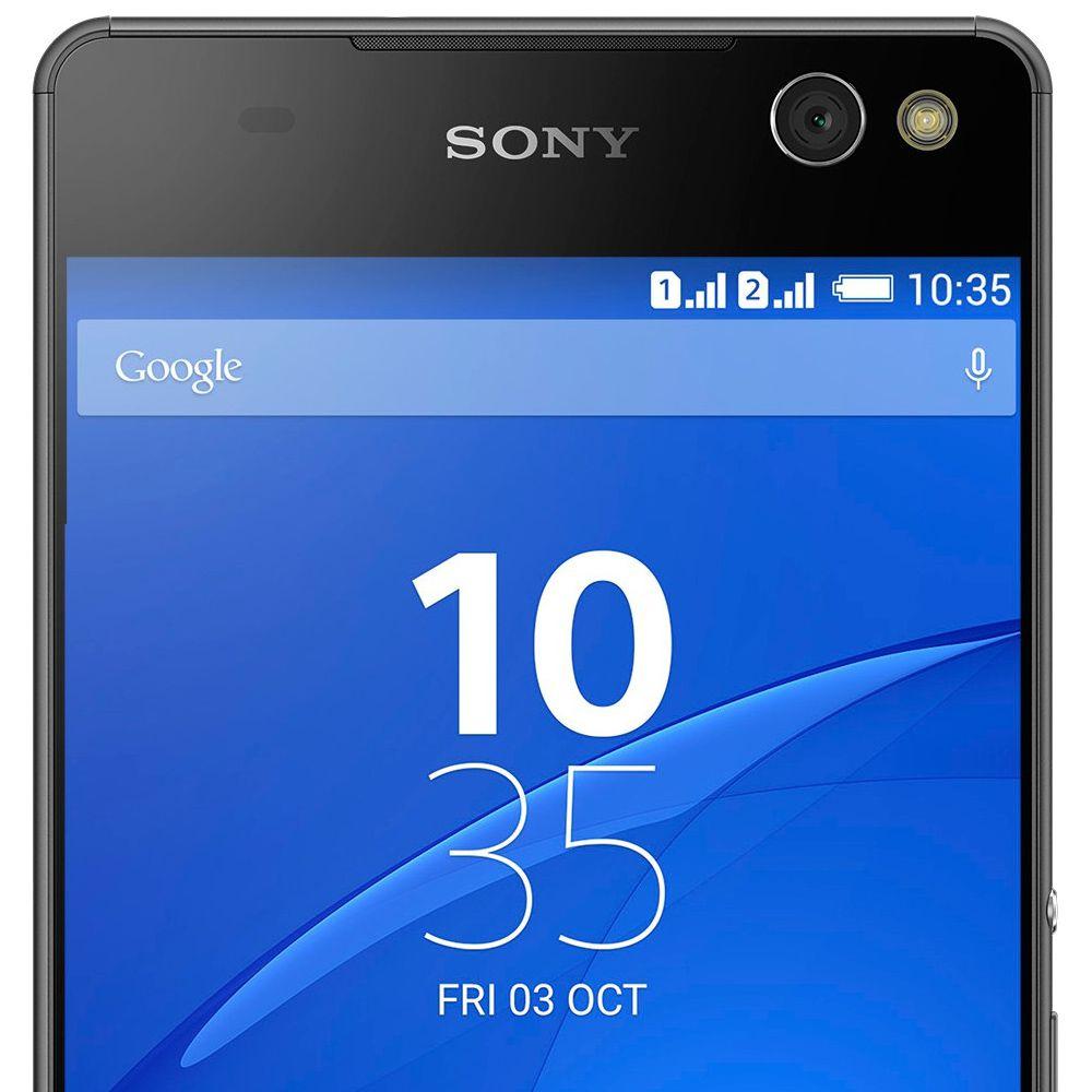 Smartphone Sony Xperia C5 Ultra E5563 Tela 6.0' Dual 16gb 13mp Vitrine 3 + Brinde