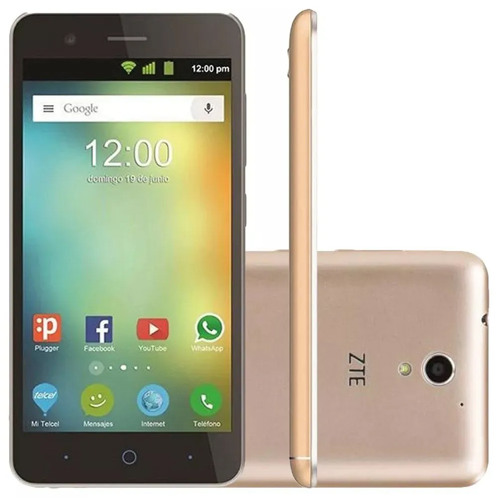 Smartphone ZTE Blade Dual A510 8gb Tela 5' Wi-fi 4g 13mp Outlet