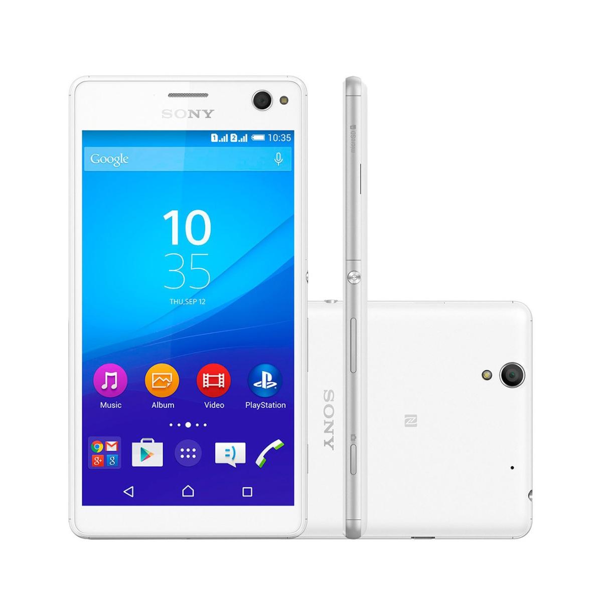 Sony Xperia C4 E5343 Tela 5.5' 16gb Tv 13mp - Recondicionado