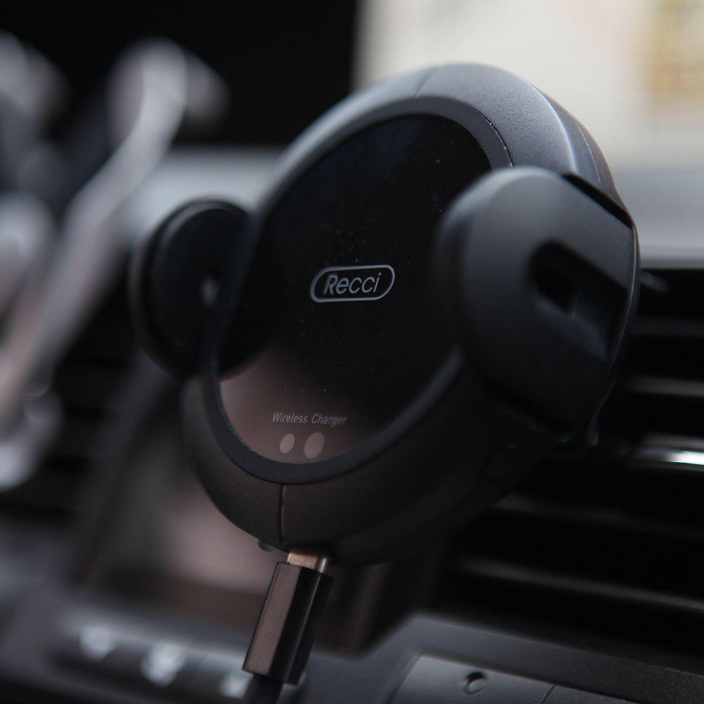 Suporte Carregador Veicular Por Indução Recci Auto-ajuste