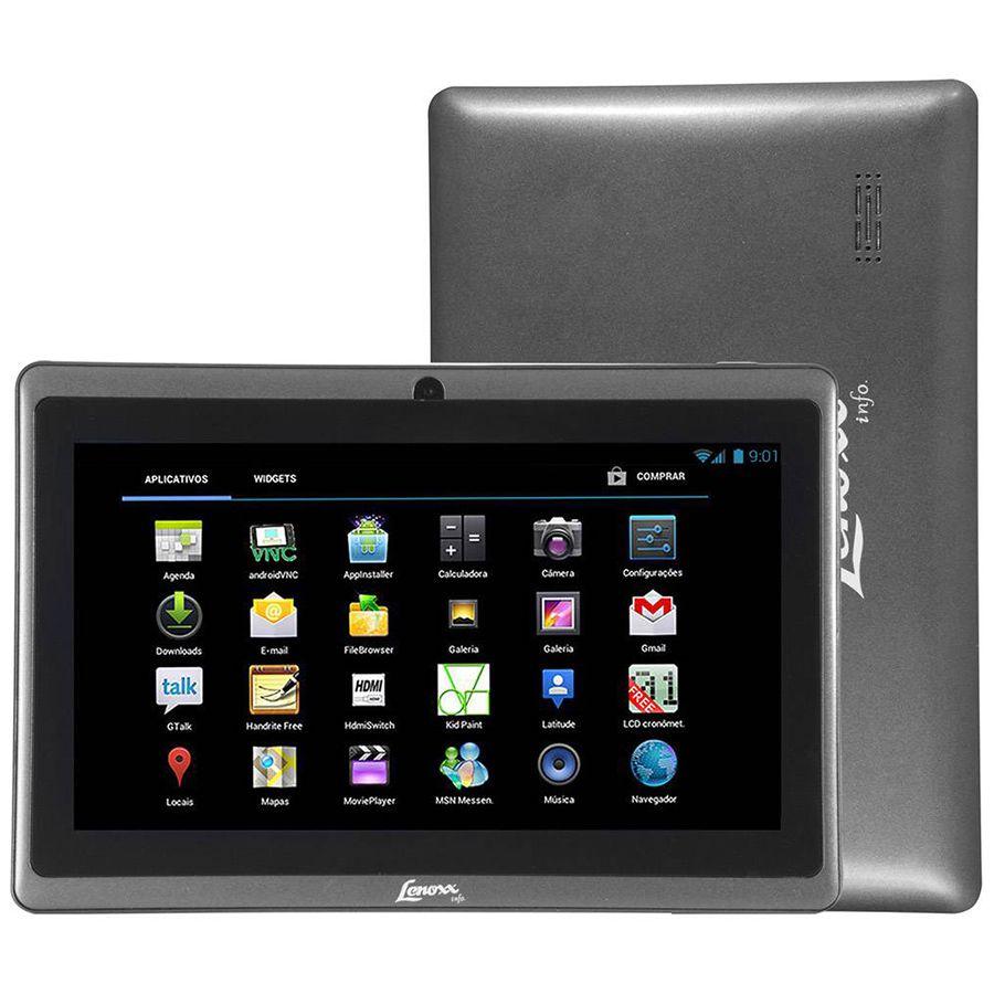 Tablet Lenoxx Tb50 Wi-fi Tela 7.0 4gb Android 4.0 Seminovo + Brinde