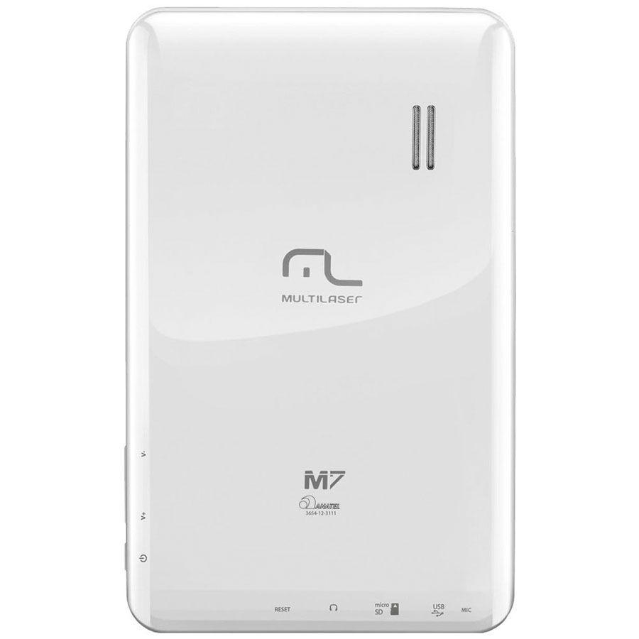 Tablet Multilaser M7 Nb044 Tela 7' Android 4.1 Wi-fi Vitrine