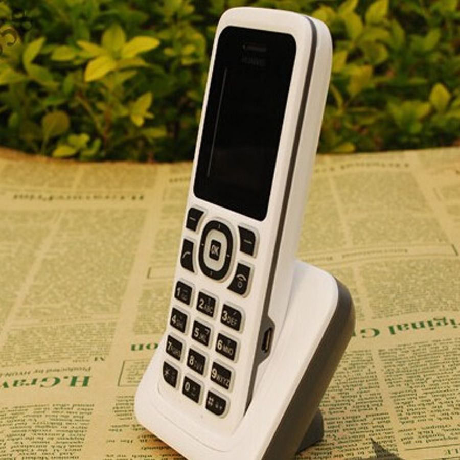 Telefone Fixo S/ Fio Huawei F361 Branco Original Vitrine