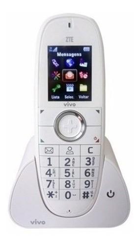 Telefone Fixo Zte Chip 3g/gsm Wp750 Vivo Residencial Usado