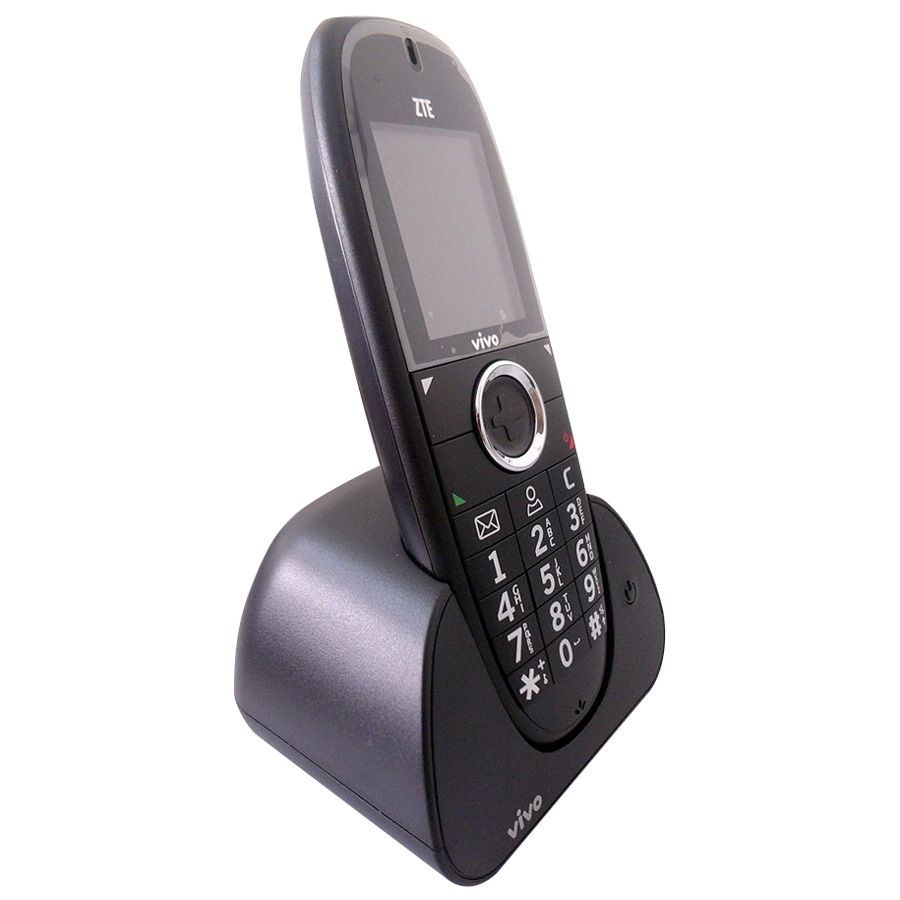 Telefone Fixo Zte Wp750 Vivo Residêncial Vitrine