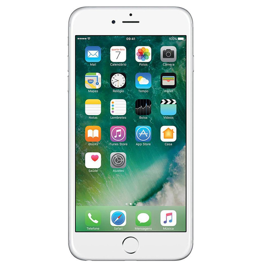 USADO Apple Iphone 6 128gb Tela 4.7' 8mp c/  mancha na TELA