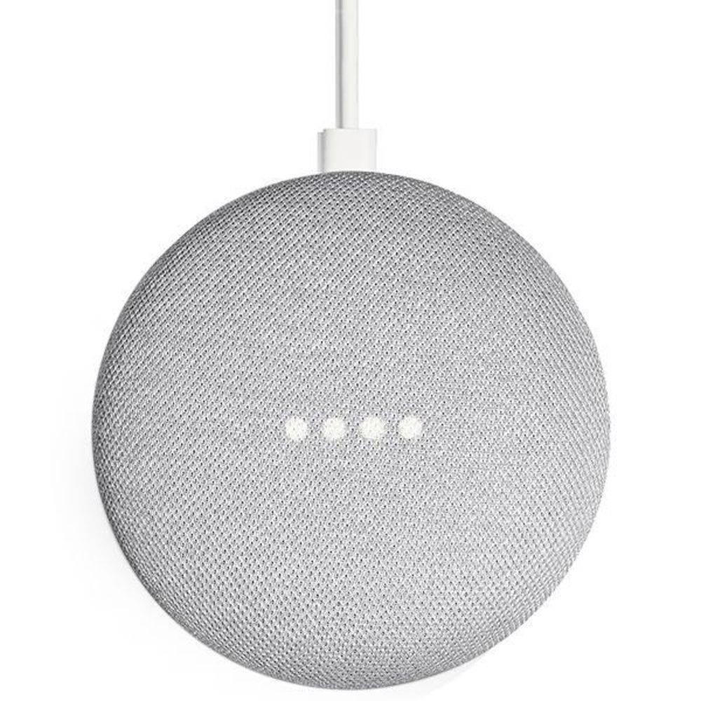 USADO  Google Home Mini Assistente Pessoal Caixa De Som Wi-fi  Cinza Claro