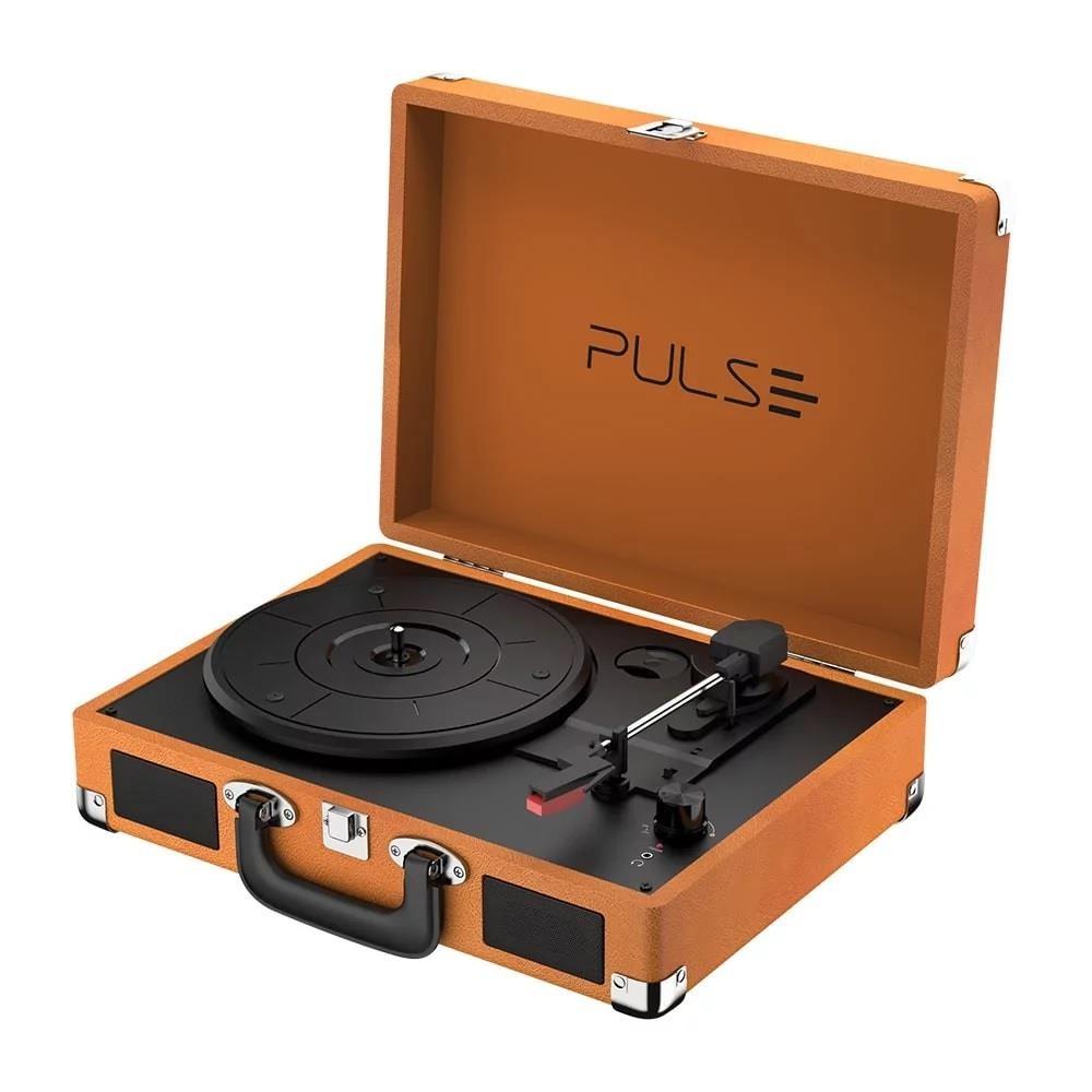 Vitrola Multilaser Retrô Pulse com Bluetooth V2.1 Android e iOS Berry SP364