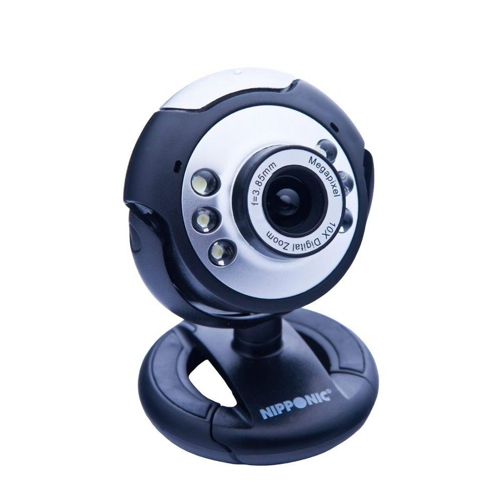 Webcam Usb Com Microfone Embutido Nipponic Nip-vc76p