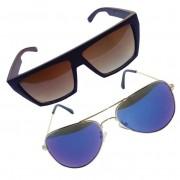Óculos de Sol Khatto Combo Aviador e Square