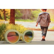 Óculos de Sol Khatto Kids Retrô Bruninha