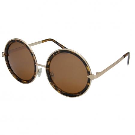 Óculos de Sol Khatto Retrô Round Vintage - C011