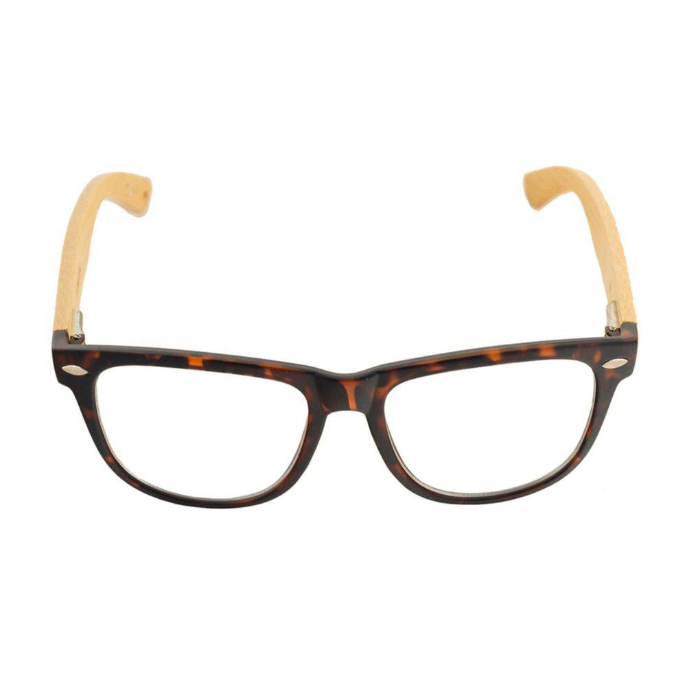 Armação para Óculos de Grau Khatto Bambú Nature - C86