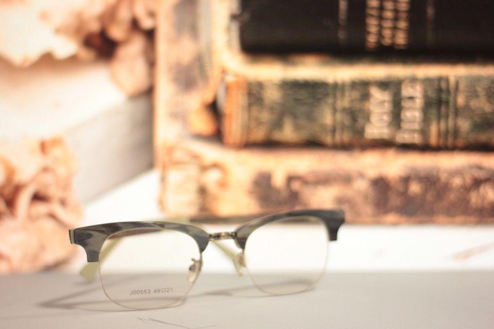 Armação para Óculos de Grau Khatto Clubmaster Yellow