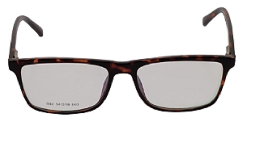 Armação para Óculos Khatto Square Animal Print - PU