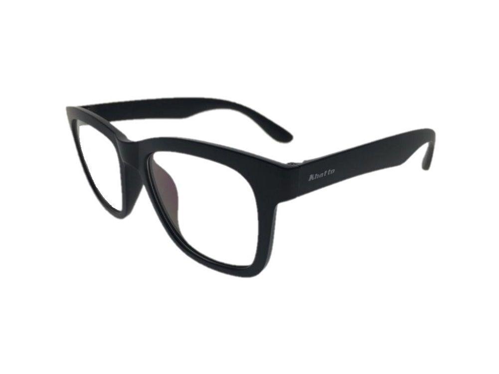 Armação para Óculos Khatto Square Black - C103