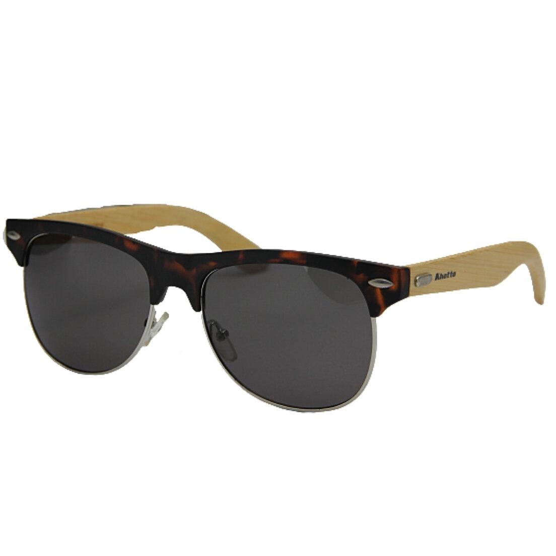 Óculos de Sol Khatto Bambu Clubmaster Safe - PU