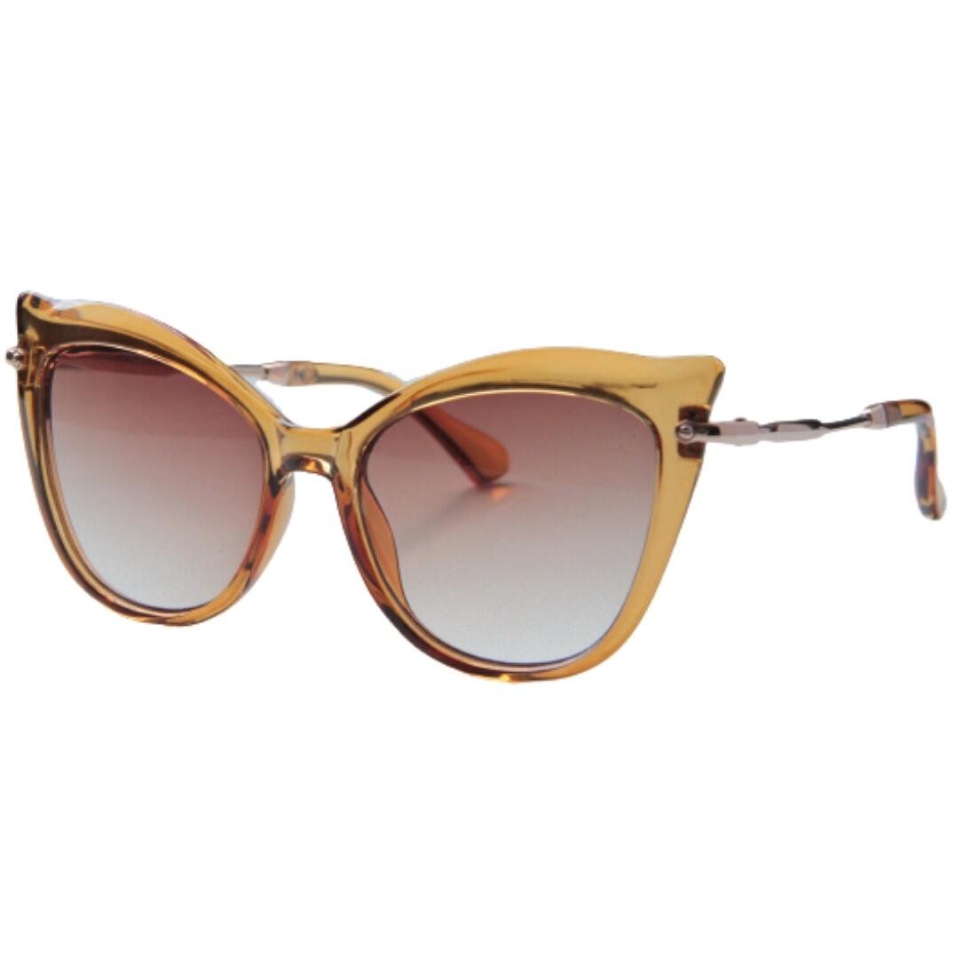 Óculos de Sol Khatto Cat Caramelo Italiano - PU