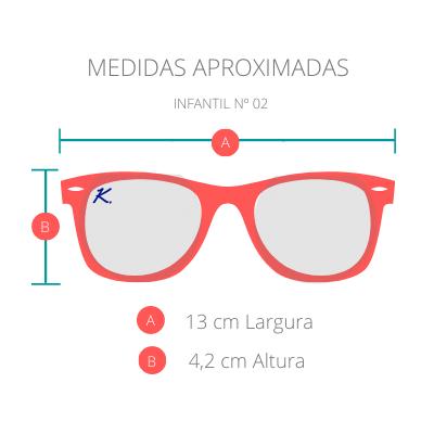 Óculos de Sol Khatto Kids Round Flik - C001