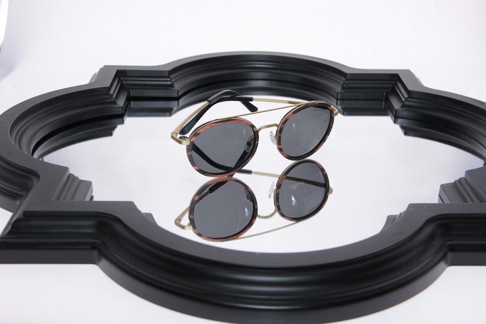 Óculos de Sol Khatto Madeira Round Caçador - C008