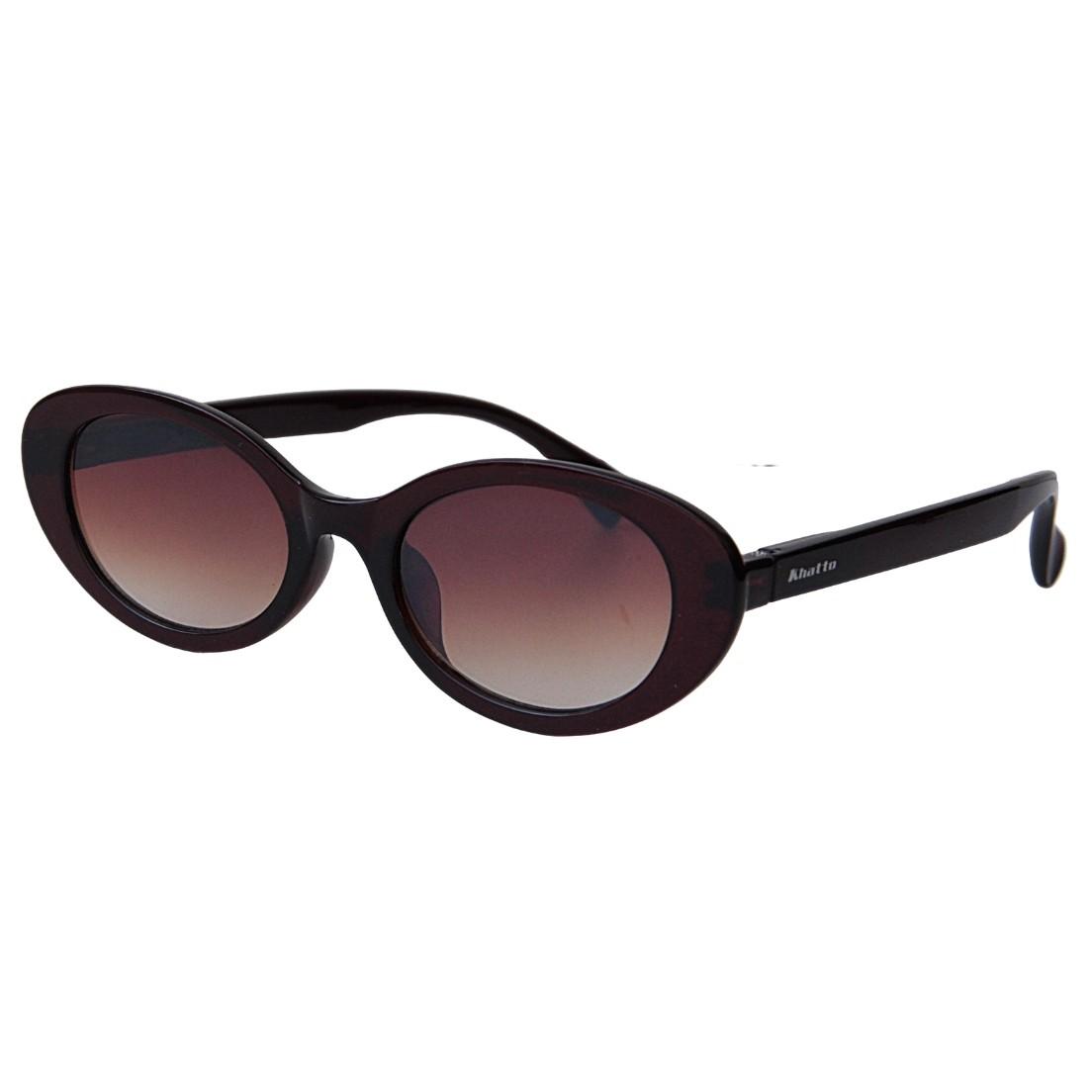Óculos de Sol Khatto Retrô Bruninha Oval- PU
