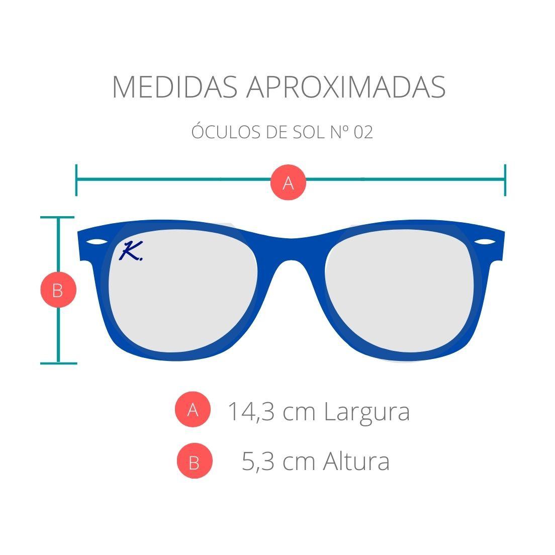 Óculos de Sol Khatto Retrô Round - C124
