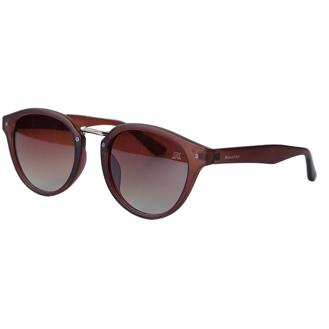 Óculos de Sol Khatto Round Brow Acetato- PU
