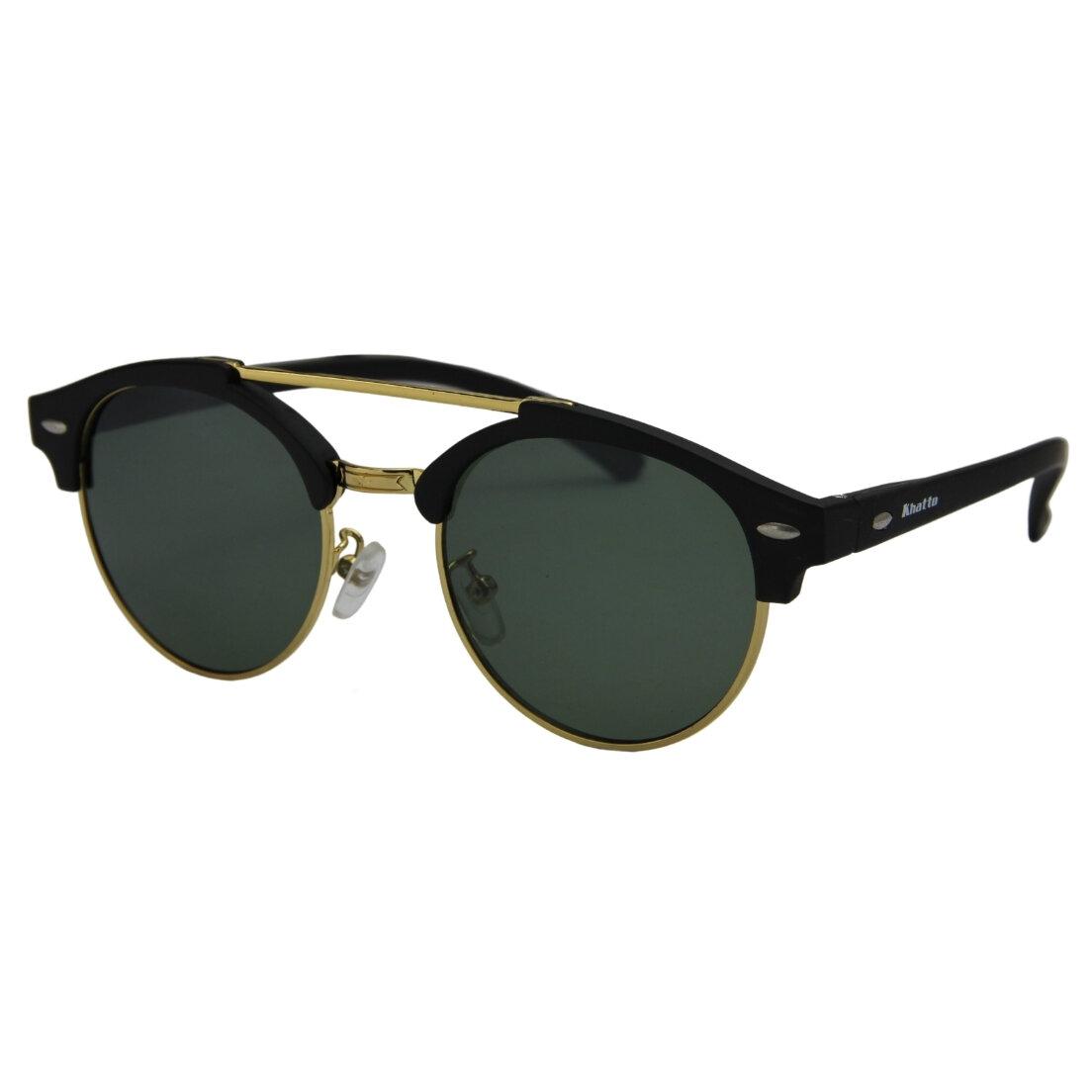 Óculos de Sol Khatto Round Caçador Clássico - C015