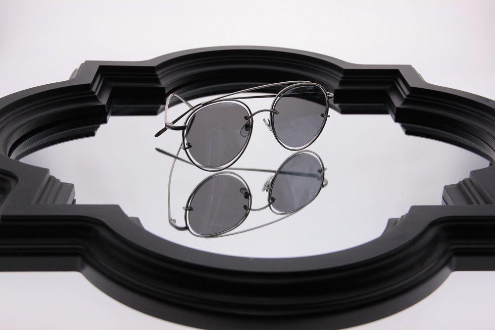 Óculos de Sol Khatto Round Estilo