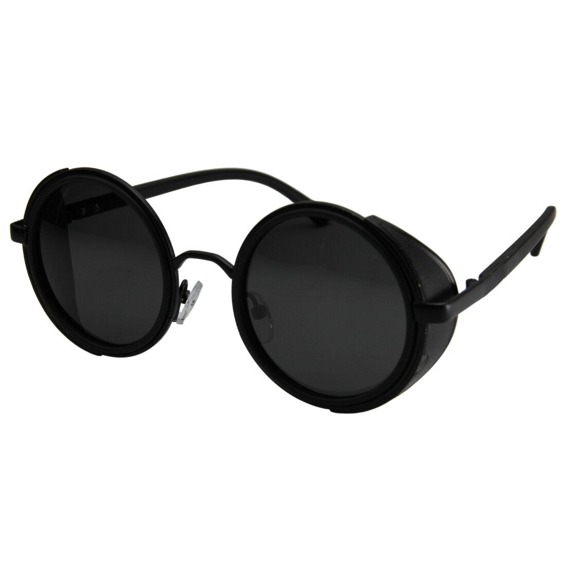 Óculos de Sol Khatto Round Veloz Metal - PU