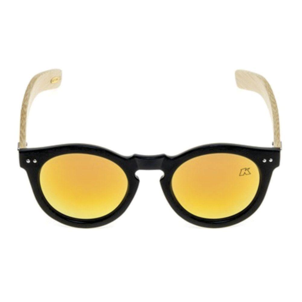 Óculos de Sol Khatto Bambú Round Young - PU