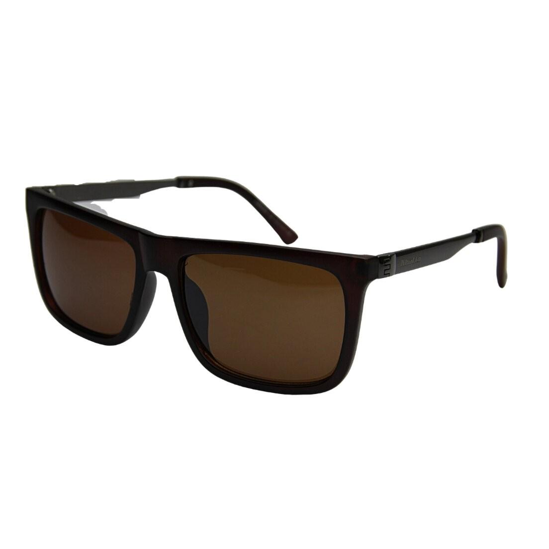 Óculos de Sol Khatto Square Brown Italiano - C120