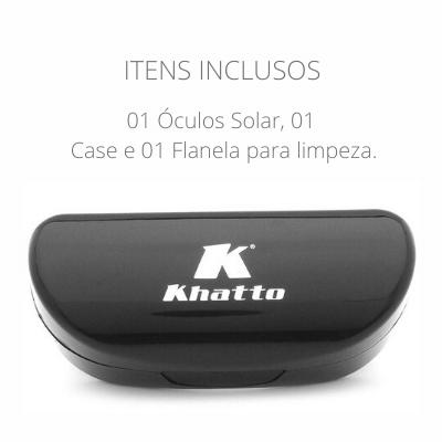 Óculos de Sol Khatto Square Geo Basic - C077