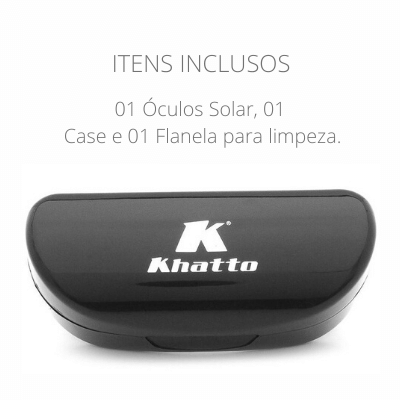 Óculos de Sol Khatto Square Geo Emotion Italiano - C121