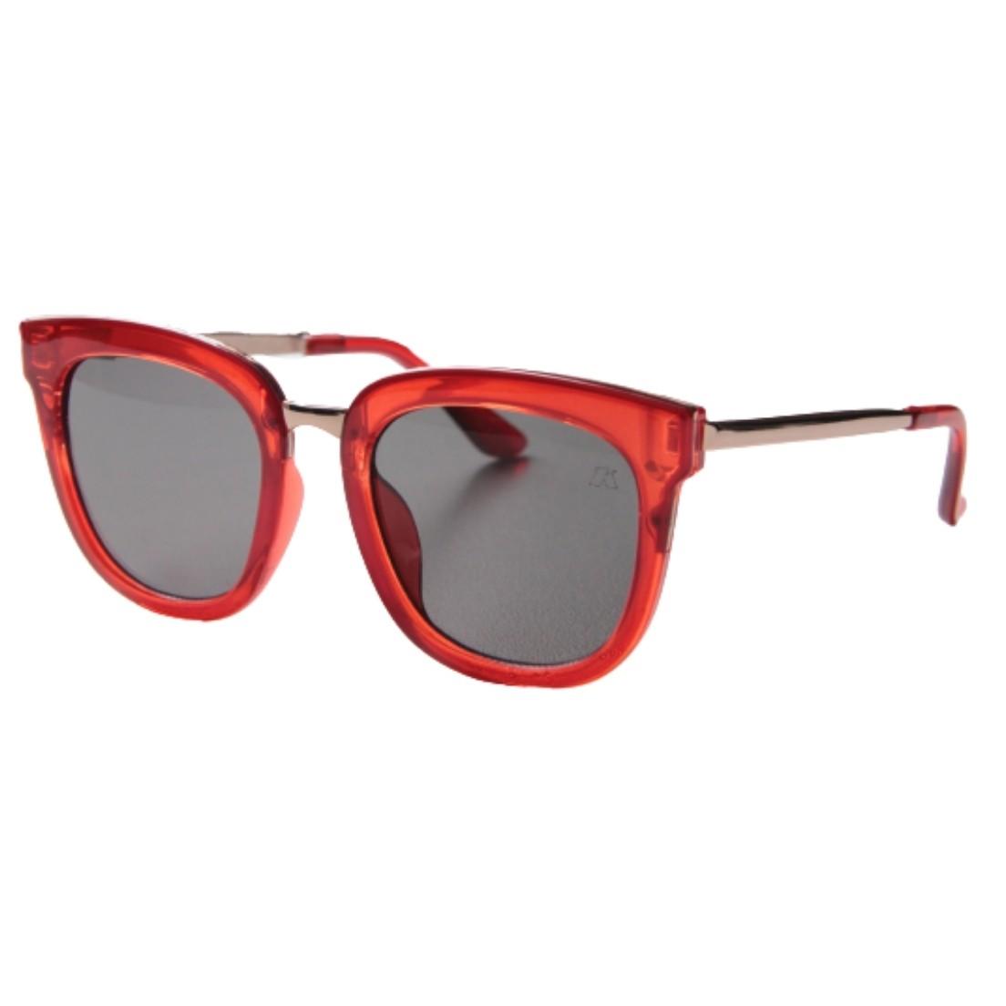 Óculos de Sol Khatto Square Red Italiano - PU