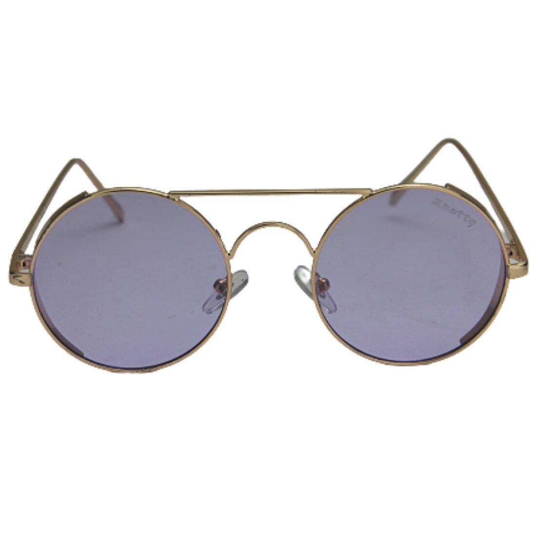 OUTLET - Óculos de Sol Khatto Round - Lilás