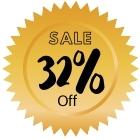 32% Off